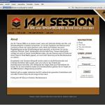 The design for the Jam Session Contest 2007 website