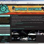 The current version of the website which was created 2009