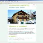 Haus Binder website