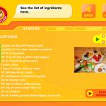 The ingredients checklist