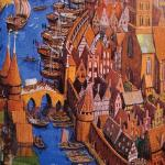 Image of historic Lübeck which was used as a guideline